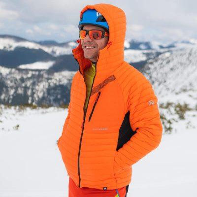 BU-3808SKP pánska bunda ski-touring thermal PrimaLoft BUDIN 16
