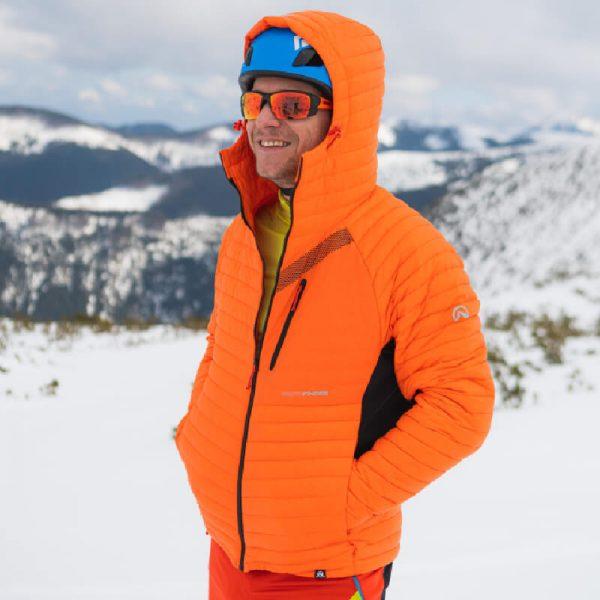 BU-3808SKP pánska bunda ski-touring thermal PrimaLoft BUDIN 5