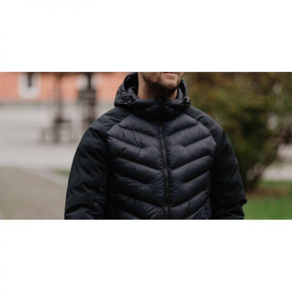 BU-3840SP pánska bunda zateplená softshell combi VINGET 3