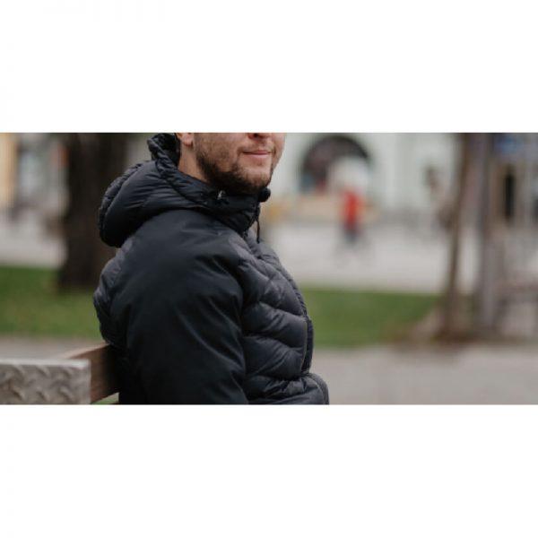 BU-3840SP pánska bunda zateplená softshell combi VINGET 4