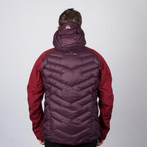 BU-3840SP pánska bunda zateplená softshell combi VINGET 12