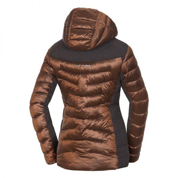 BU-4652SNW dámska bunda glamour do chladného a mokrého počasia EXTRA SIZE VYOLETA 6
