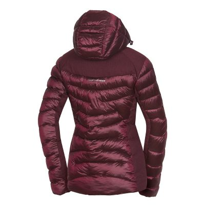 BU-4652SNW dámska bunda glamour do chladného a mokrého počasia EXTRA SIZE VYOLETA 13