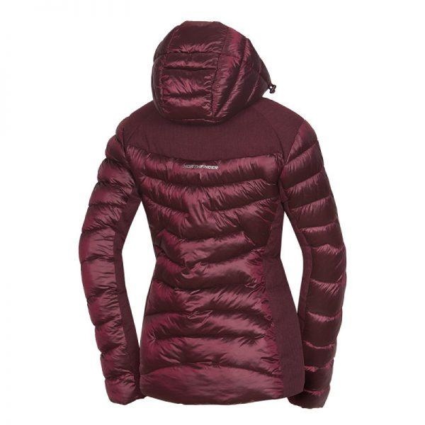 BU-4652SNW dámska bunda glamour do chladného a mokrého počasia EXTRA SIZE VYOLETA 8