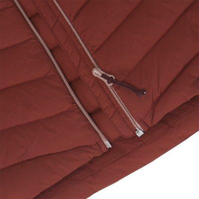 BU-4662OR dámska bunda ultra-ľahká pre suché a chladné počasie EXTRA SIZE BESIMA 19