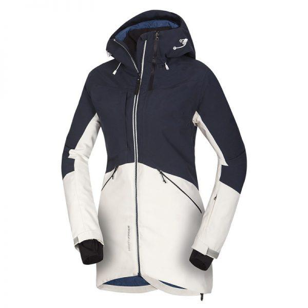 BU-4670SNW dámska bunda zateplená Primaloft® izolácia Eco Black plná výbava 3L ALDENYAJA 4