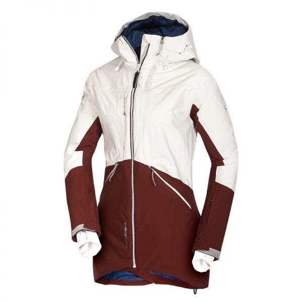 BU-4670SNW dámska bunda zateplená Primaloft® izolácia Eco Black plná výbava 3L ALDENYAJA 3