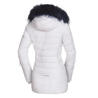 BU-4676SNW dámska bunda alpin zateplená séria dlhý štýl a kožušina 2L IRNES 40