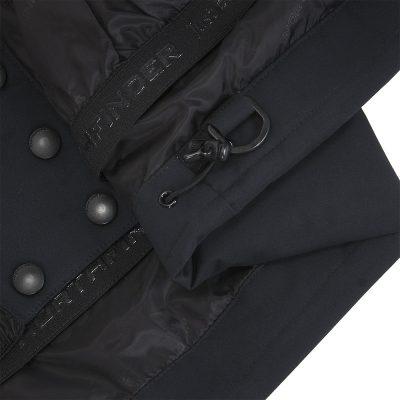 BU-4676SNW dámska bunda alpin zateplená séria dlhý štýl a kožušina 2L IRNES 24