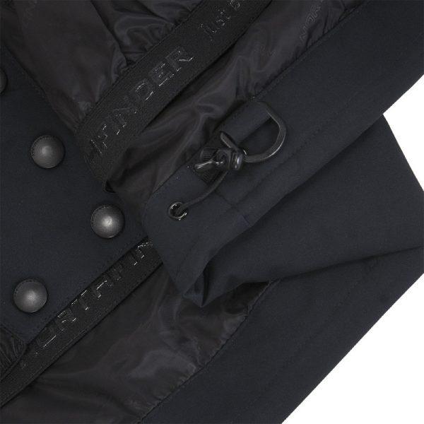 BU-4676SNW dámska bunda alpin zateplená séria dlhý štýl a kožušina 2L IRNES 5