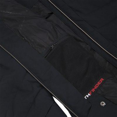BU-4676SNW dámska bunda alpin zateplená séria dlhý štýl a kožušina 2L IRNES 26