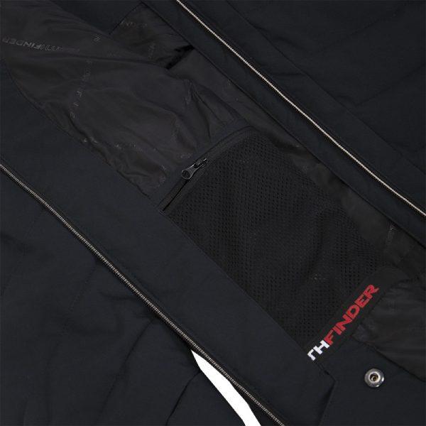 BU-4676SNW dámska bunda alpin zateplená séria dlhý štýl a kožušina 2L IRNES 7