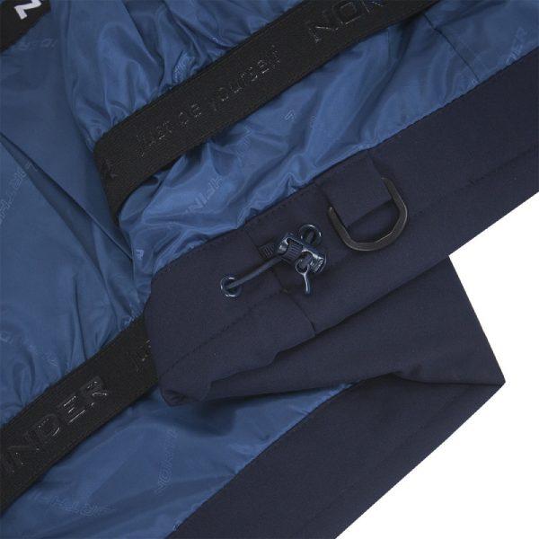 BU-4676SNW dámska bunda alpin zateplená séria dlhý štýl a kožušina 2L IRNES 12