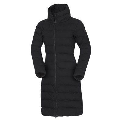 BU-4692SP dámska bunda zateplená bavlnený dlhý štýl CINKA 12