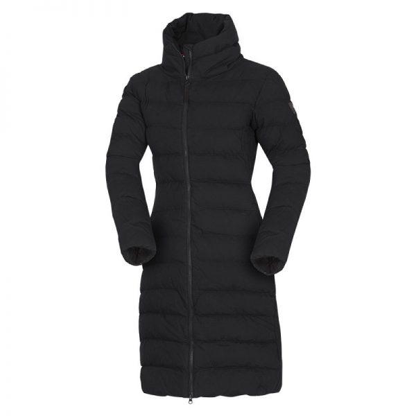 BU-4692SP dámska bunda zateplená bavlnený dlhý štýl CINKA 5