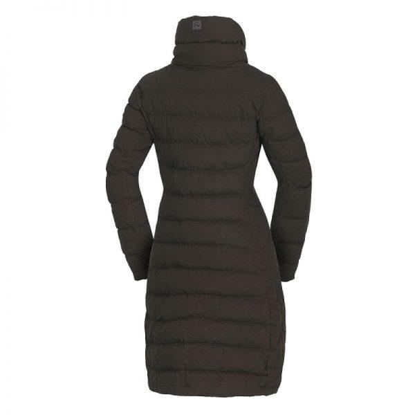 BU-4692SP dámska bunda zateplená bavlnený dlhý štýl CINKA 3