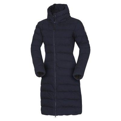 BU-4692SP dámska bunda zateplená bavlnený dlhý štýl CINKA 17