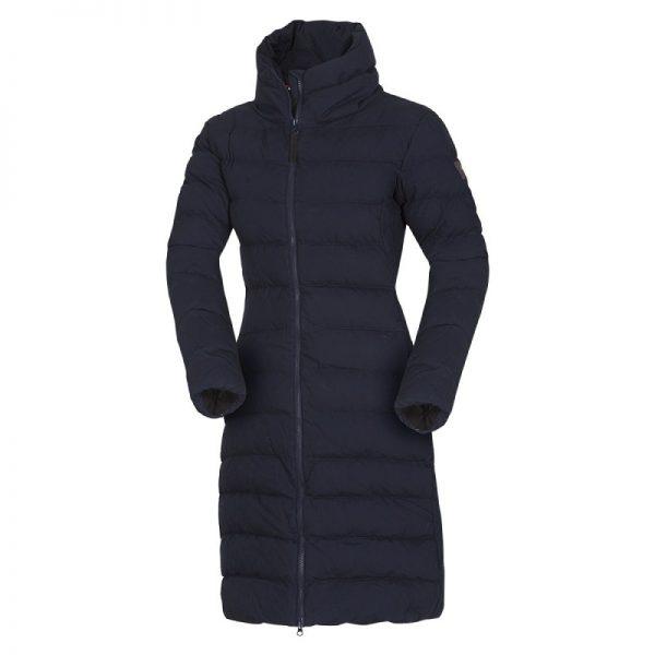BU-4692SP dámska bunda zateplená bavlnený dlhý štýl CINKA 10