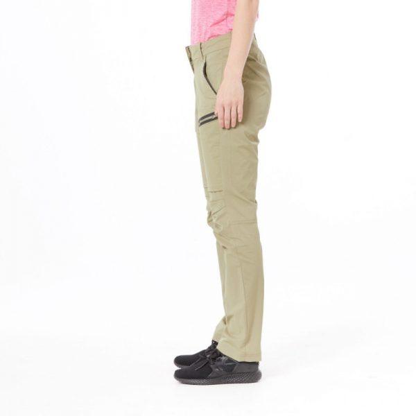 Dámske nohavice north bavlnený vzhľad zúžené 4