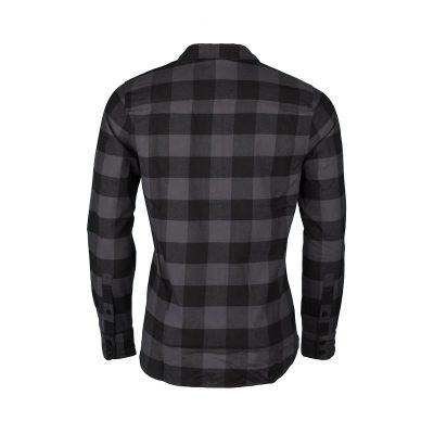 KO-3200OR Pánska bavlnená flanelová košeľa regular style RUNAH 5