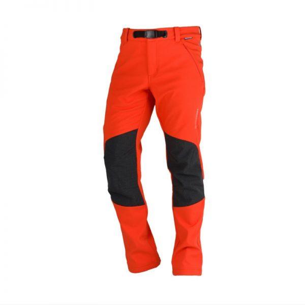 NO-3557OR pánske nohavice komfortné-softshellové 3L outdoorové GORAN 4