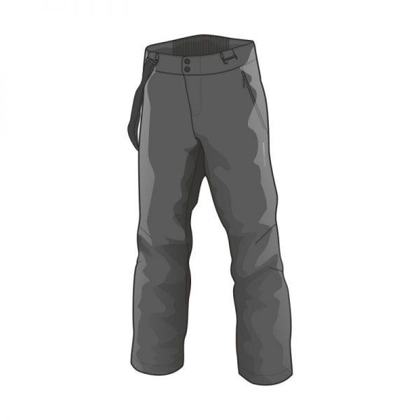 NO-3655SNW pánske nohavice lyžiarske softshell plná výbava EREJ 6