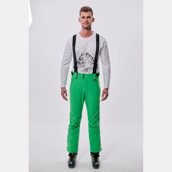 NO-3655SNW pánske nohavice lyžiarske softshell plná výbava EREJ 9