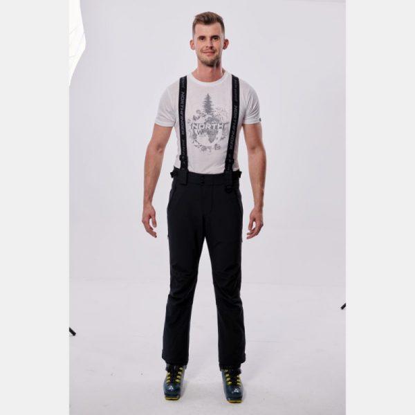 NO-3655SNW pánske nohavice lyžiarske softshell plná výbava EREJ 3