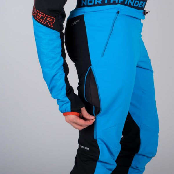 NO-3662SKP pánska nohavice ski-turingová active Polartec Power Stretch Pro DERESE 3