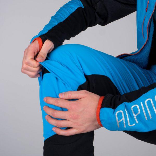 NO-3662SKP pánska nohavice ski-turingová active Polartec Power Stretch Pro DERESE 4