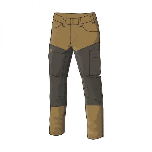 NO-3688AD pánske nohavice adventure 2v1 bavlnený štýl OSTYN 4