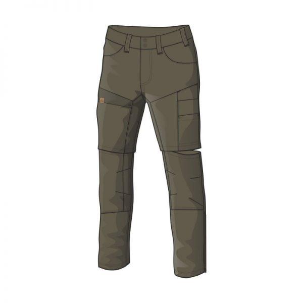 NO-3688AD pánske nohavice adventure 2v1 bavlnený štýl OSTYN 3