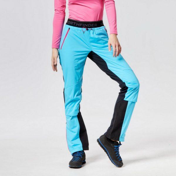 NO-4550SNW dámske SKITOURING nohavice aktívny šport Polartec® Power Stretch® PRO GORGINA 8