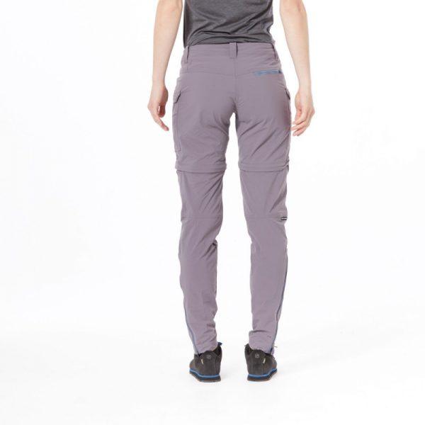 NO-4592OR dámske nohavice 2v1 tkané-ripstop pre outdoorové aktivity 1L CARITA 5