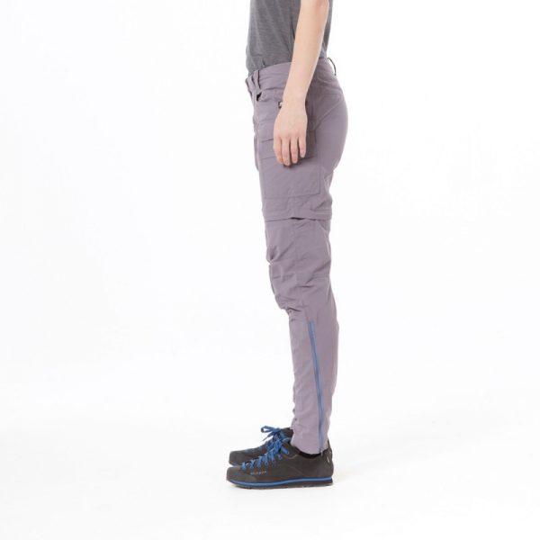 NO-4592OR dámske nohavice 2v1 tkané-ripstop pre outdoorové aktivity 1L CARITA 6