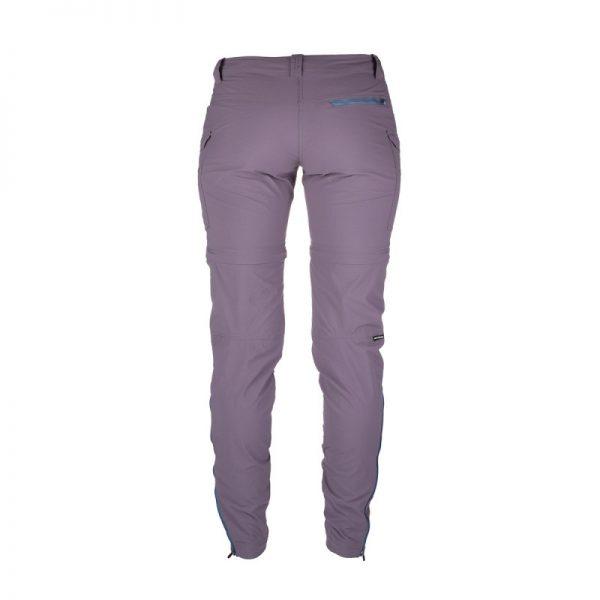 NO-4592OR dámske nohavice 2v1 tkané-ripstop pre outdoorové aktivity 1L CARITA 3