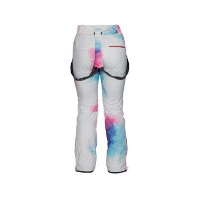 NO-4654SNW dámske nohavice lyžiarske zateplené design print HIMELDA 8