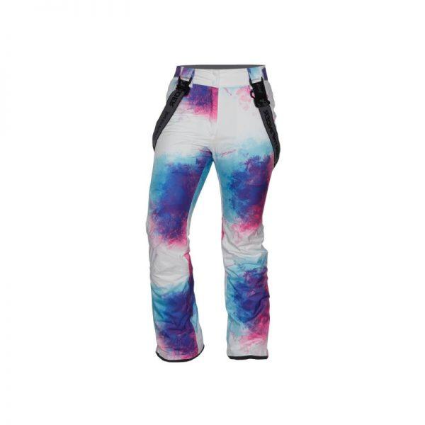 NO-4654SNW dámske nohavice lyžiarske zateplené design print HIMELDA 5