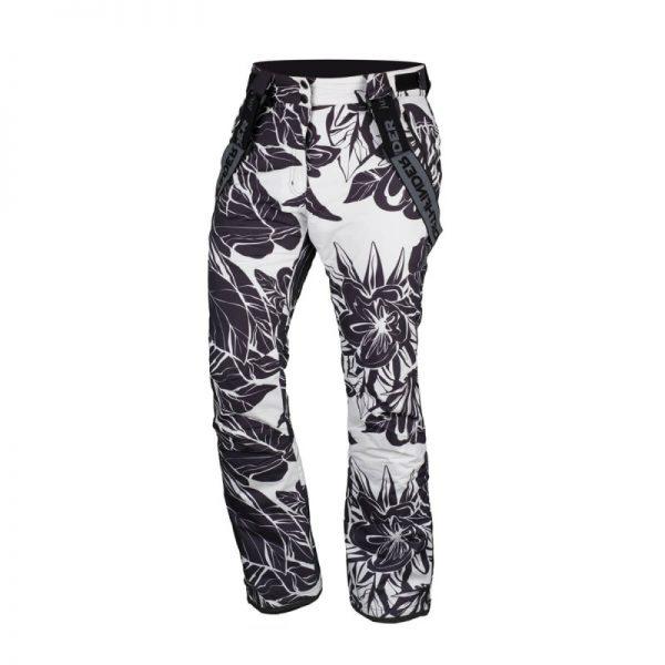 NO-4654SNW dámske nohavice lyžiarske zateplené design print HIMELDA 6