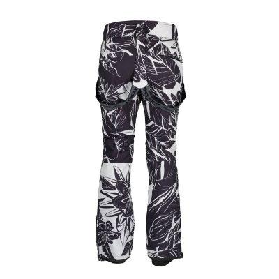 NO-4654SNW dámske nohavice lyžiarske zateplené design print HIMELDA 11