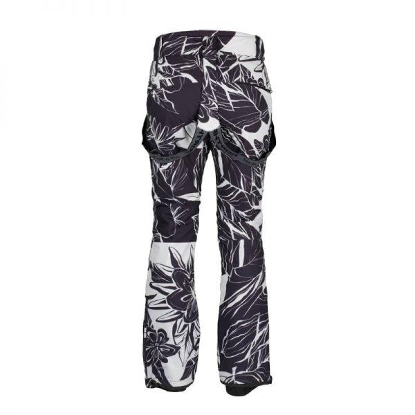 NO-4654SNW dámske nohavice lyžiarske zateplené design print HIMELDA 7
