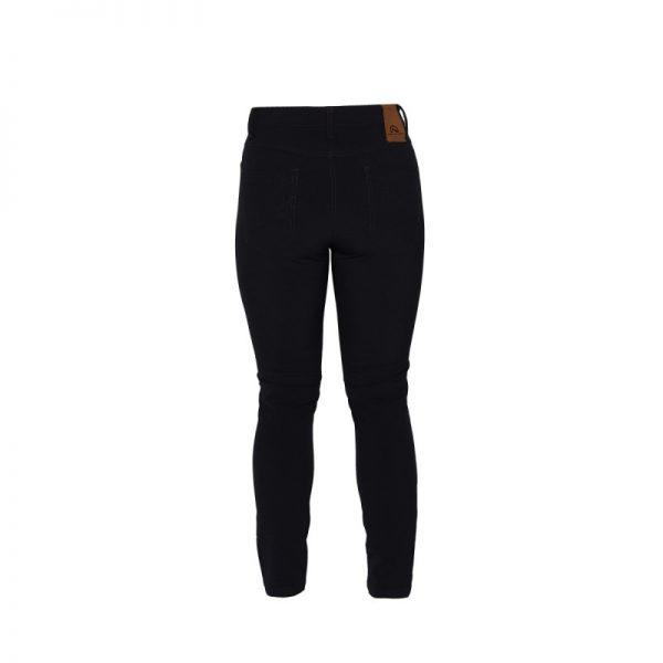 NO-4685OR dámske nohavice džínsový strih stretch GARISA 5
