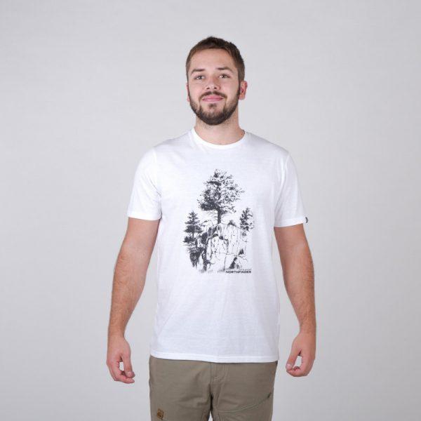 TR-3545OR Pánske tričko s prírodným motívom KARTER 18