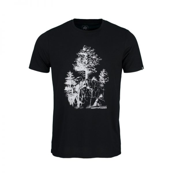 TR-3545OR Pánske tričko s prírodným motívom KARTER 19
