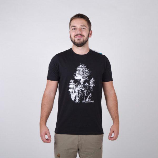 TR-3545OR Pánske tričko s prírodným motívom KARTER 21