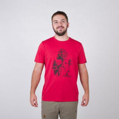 TR-3545OR Pánske tričko s prírodným motívom KARTER 24