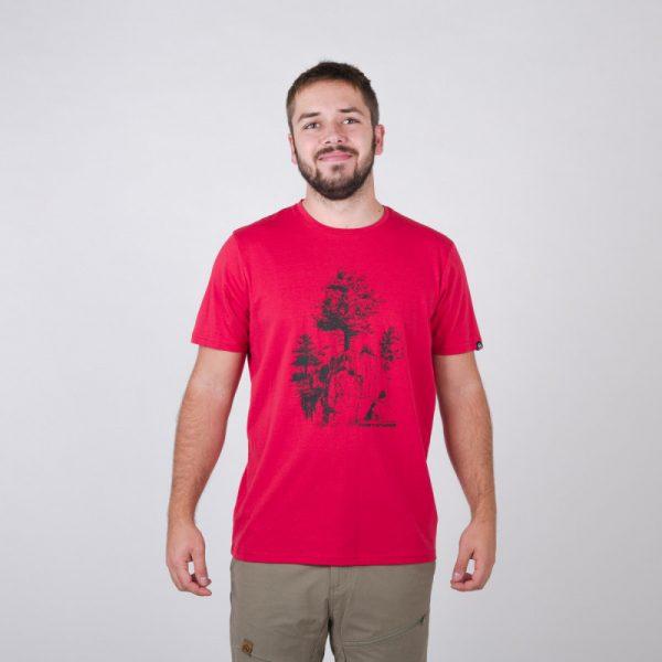 TR-3545OR Pánske tričko s prírodným motívom KARTER 5
