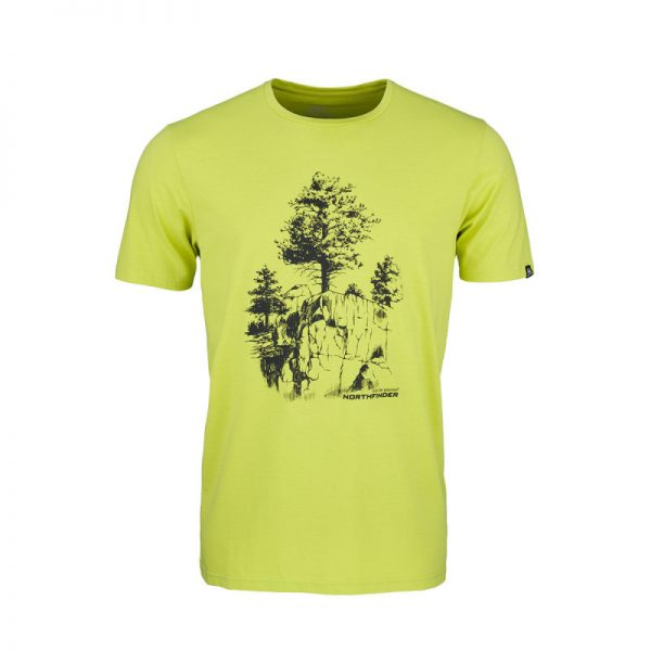 TR-3545OR Pánske tričko s prírodným motívom KARTER 7