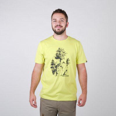 TR-3545OR Pánske tričko s prírodným motívom KARTER 28