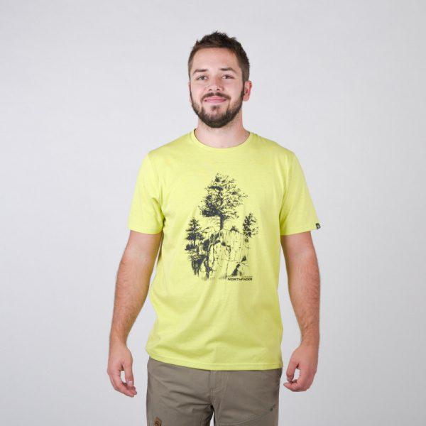 TR-3545OR Pánske tričko s prírodným motívom KARTER 9